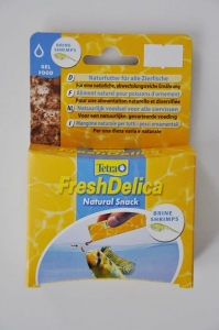 Tetra FreshDelica Natural Snack BRINE SHRIMPS